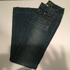 Hydraulic Jeans - Size 5-6, Thick Waistband